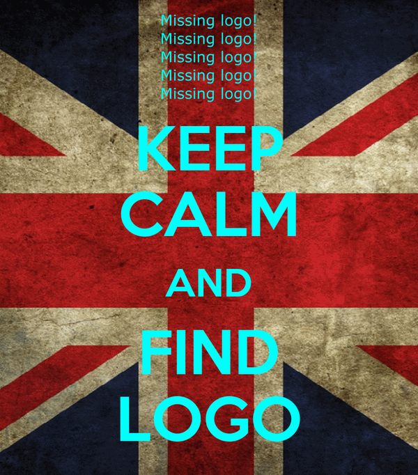 KEEP CALM AND FIND LOGO
