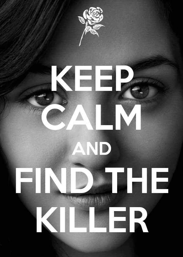 KEEP CALM AND FIND THE KILLER