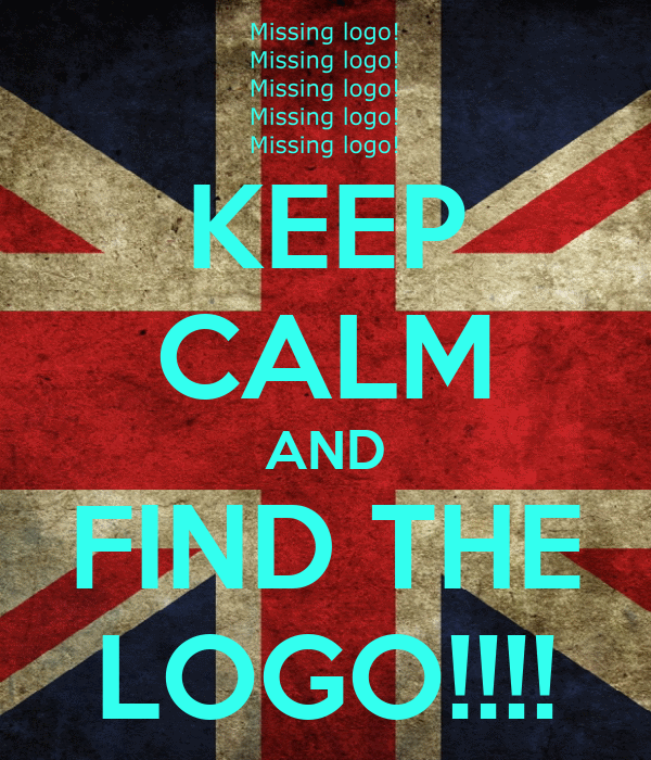 KEEP CALM AND FIND THE LOGO!!!!