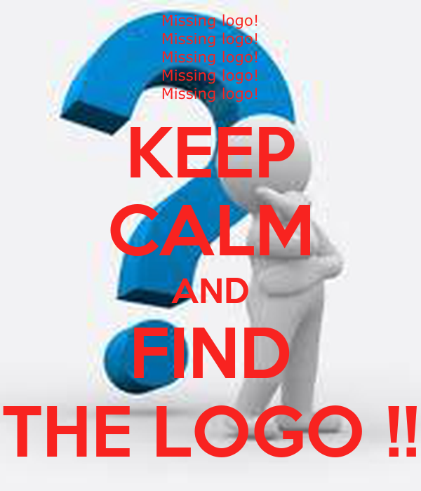 KEEP CALM AND FIND THE LOGO !!