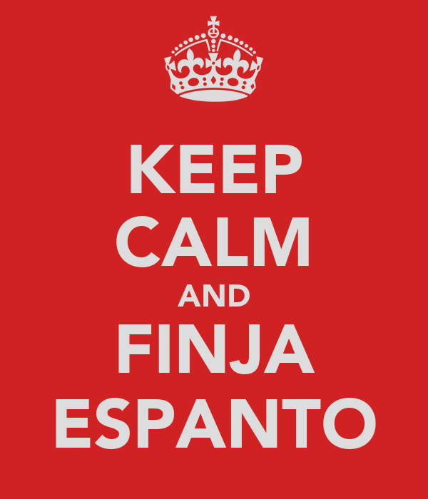 KEEP CALM AND FINJA ESPANTO