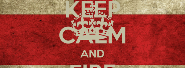KEEP CALM AND FIRE CANNONS!