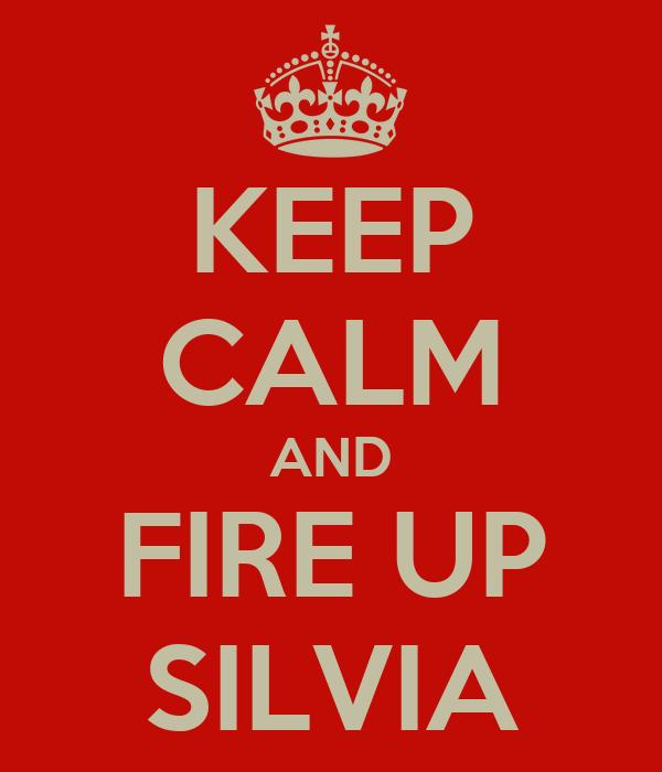 KEEP CALM AND FIRE UP SILVIA