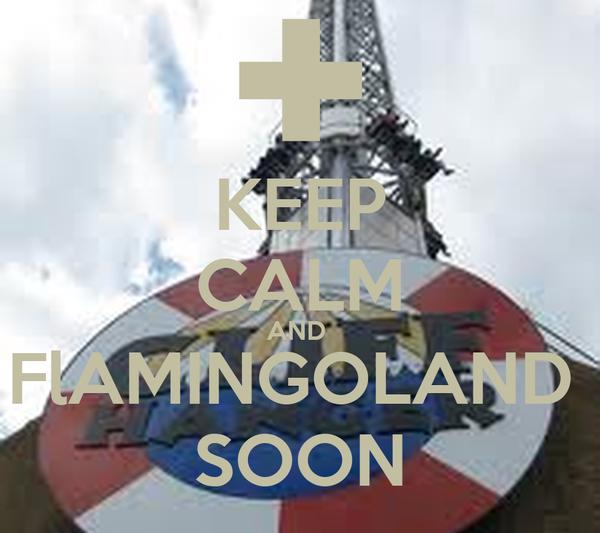 KEEP CALM AND  FlAMINGOLAND  SOON