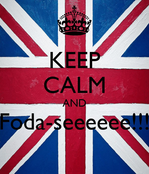 KEEP CALM AND Foda-seeeeee!!!