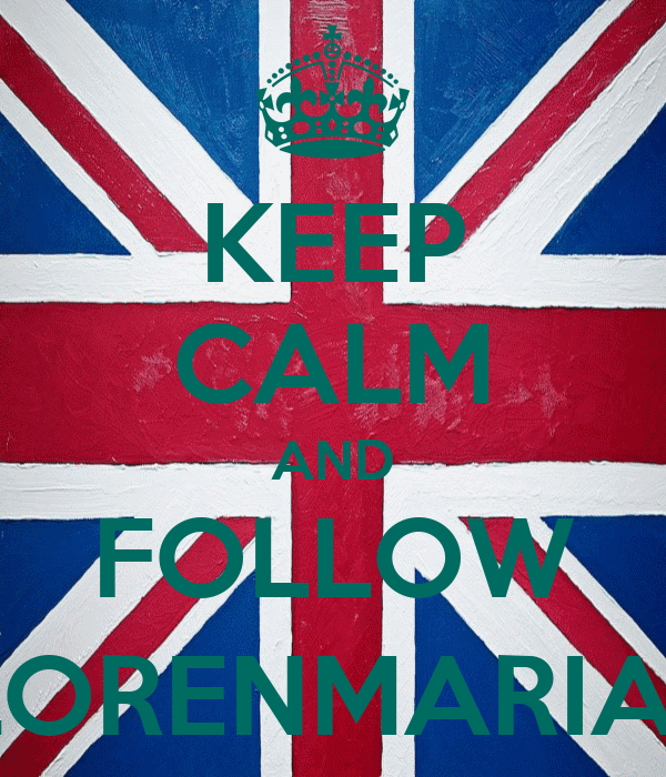 KEEP CALM AND FOLLOW @FLORENMARIANTY