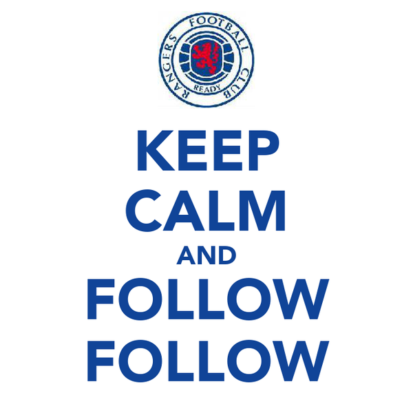 KEEP CALM AND FOLLOW FOLLOW