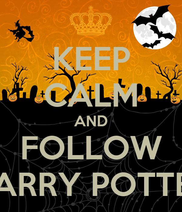 keep calm and follow harry potter poster shanzae keep