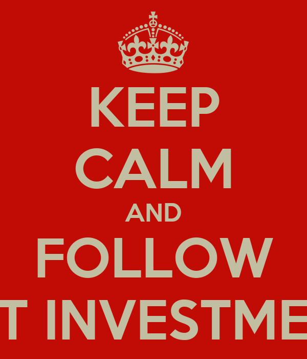 KEEP CALM AND FOLLOW NFT INVESTMENT