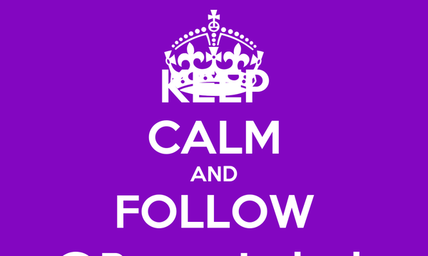 KEEP CALM AND FOLLOW @Ryrry_Indaah
