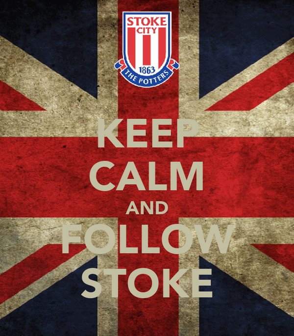 KEEP CALM AND FOLLOW STOKE
