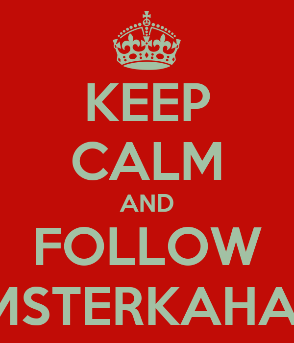 KEEP CALM AND FOLLOW SWAGMSTERKAHALID248
