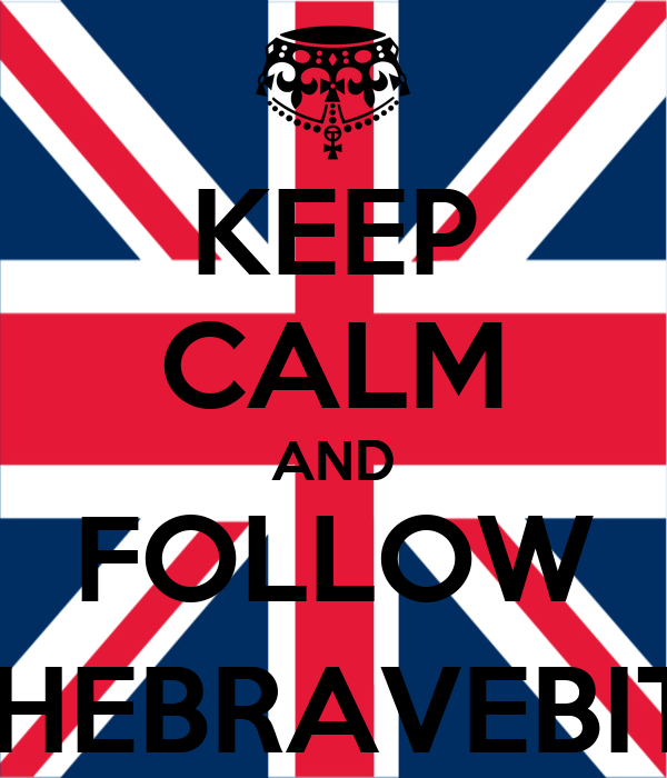 KEEP CALM AND FOLLOW @THEBRAVEBITCH