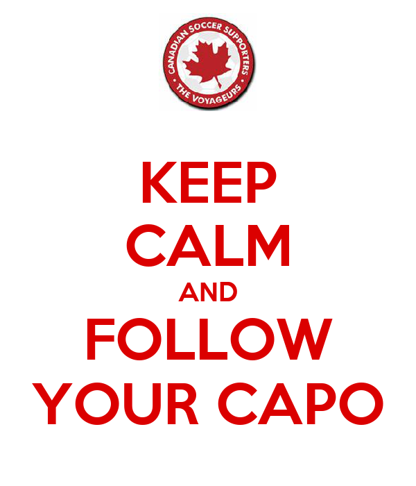 KEEP CALM AND FOLLOW YOUR CAPO