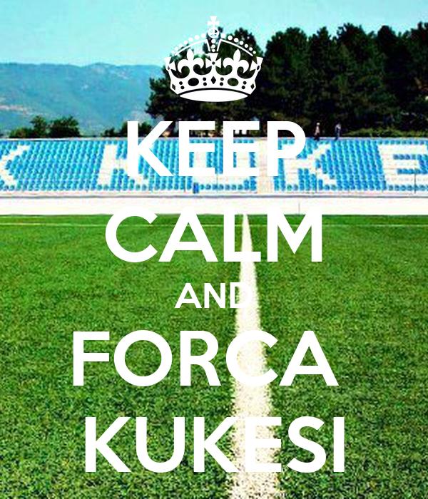 KEEP CALM AND FORCA  KUKESI