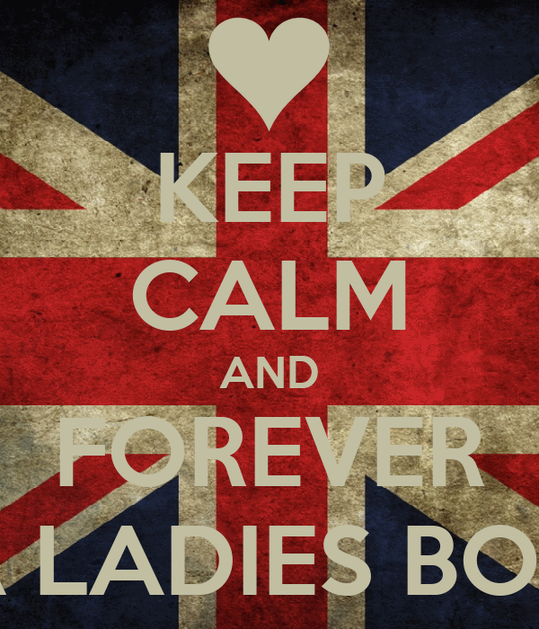 KEEP CALM AND FOREVER A LADIES BOY