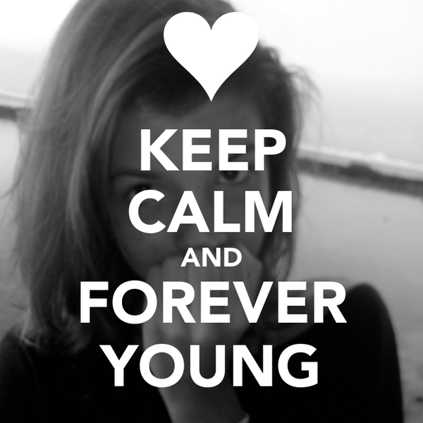 how to keep young forever