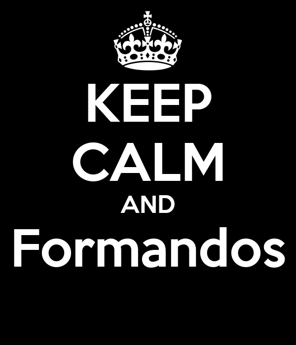 KEEP CALM AND Formandos