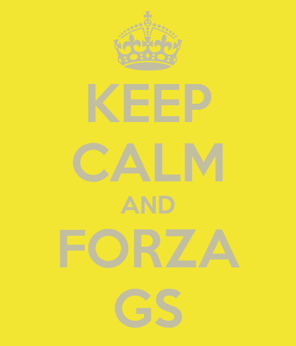 KEEP CALM AND FORZA GS