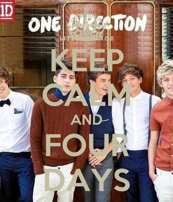 KEEP CALM AND FOUR DAYS