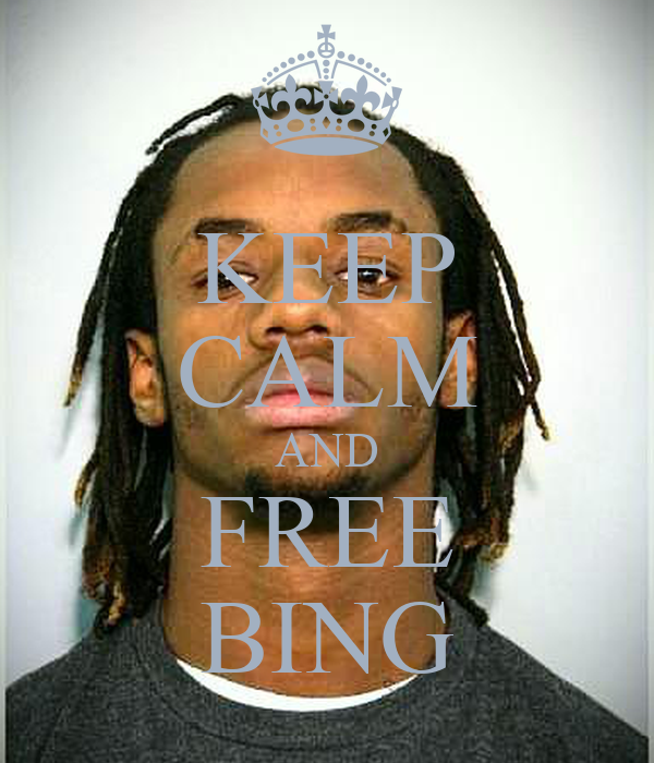 KEEP CALM AND FREE BING