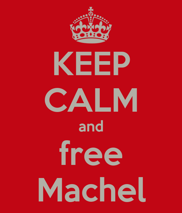KEEP CALM and free Machel
