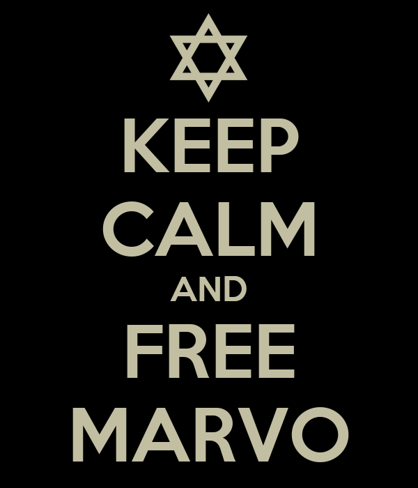 KEEP CALM AND FREE MARVO