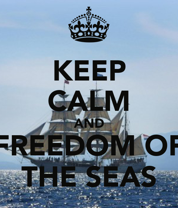 KEEP CALM AND FREEDOM OF THE SEAS