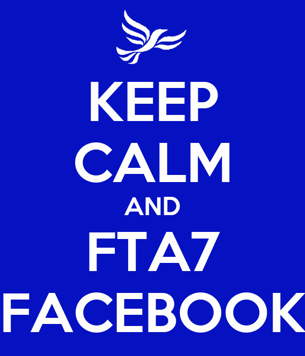 KEEP CALM AND FTA7 FACEBOOK