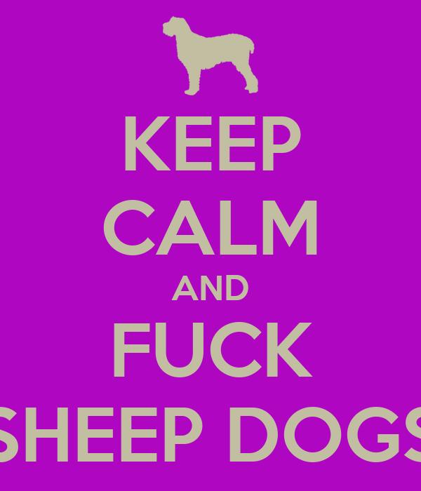 KEEP CALM AND FUCK SHEEP DOGS