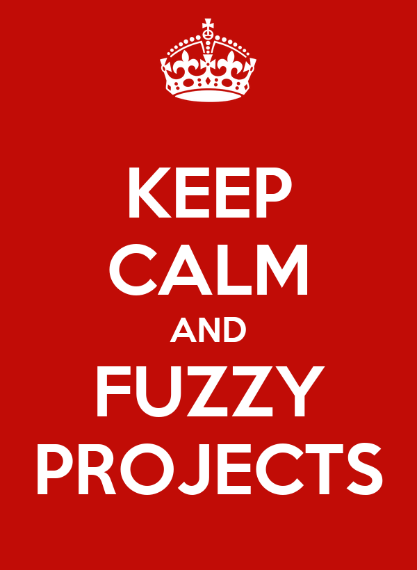 KEEP CALM AND FUZZY PROJECTS