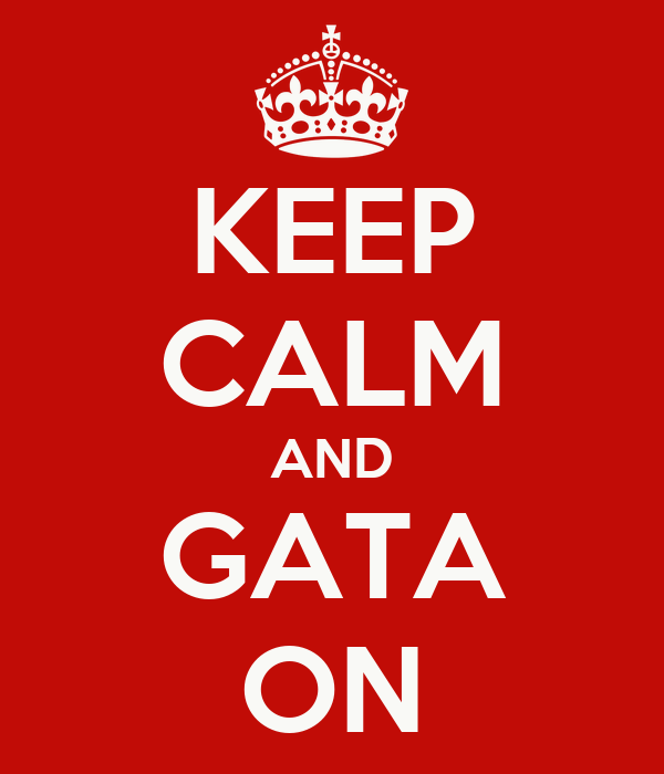 KEEP CALM AND GATA ON