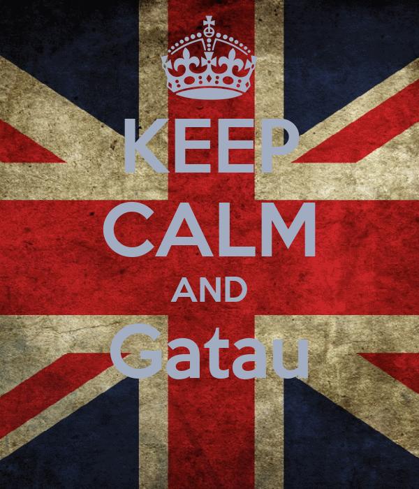 KEEP CALM AND Gatau