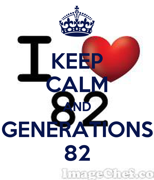 KEEP CALM AND GENERATIONS 82