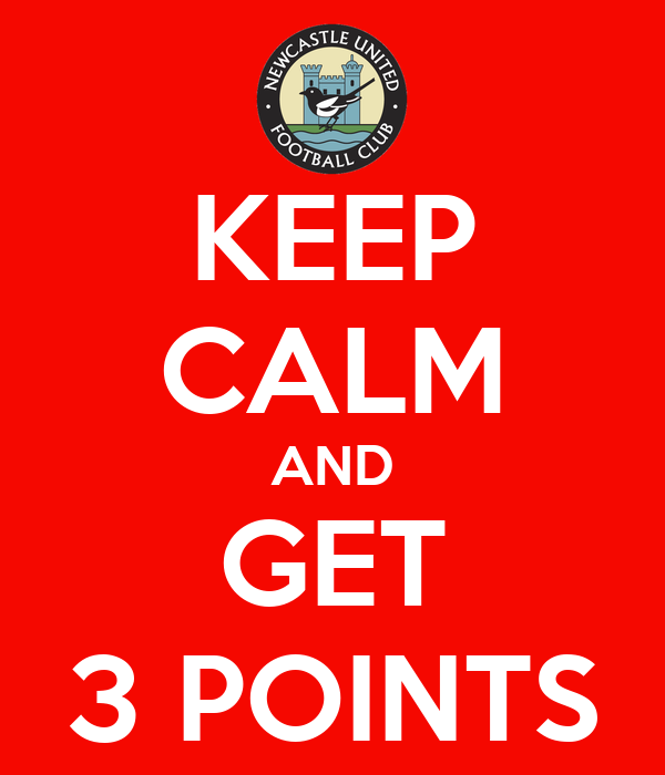 KEEP CALM AND GET 3 POINTS