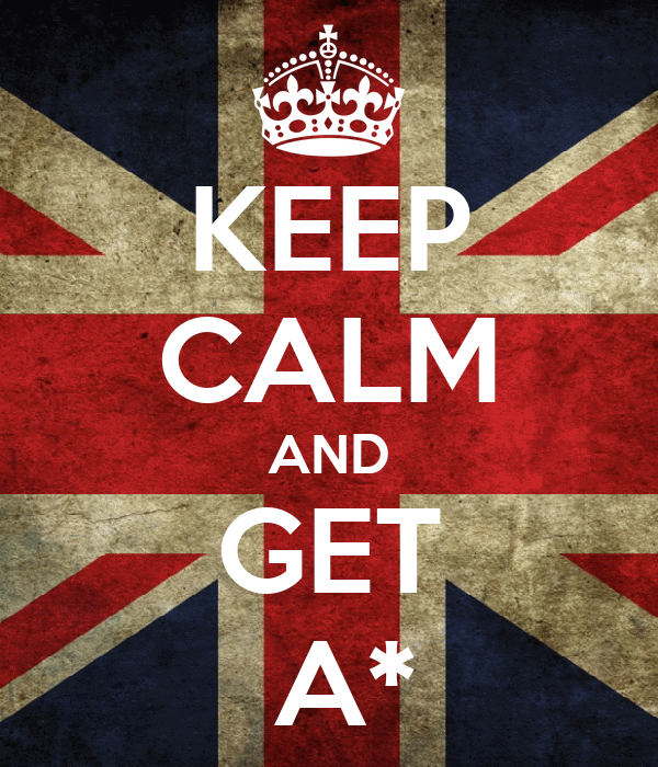 KEEP CALM AND GET   A*
