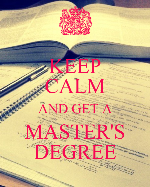 Get a masters