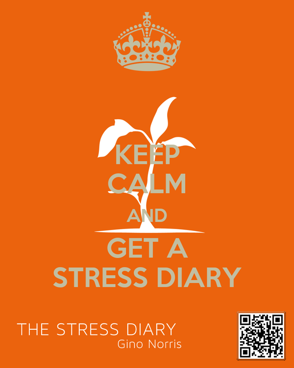 KEEP CALM AND GET A STRESS DIARY