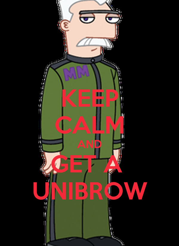 how to get a unibrow