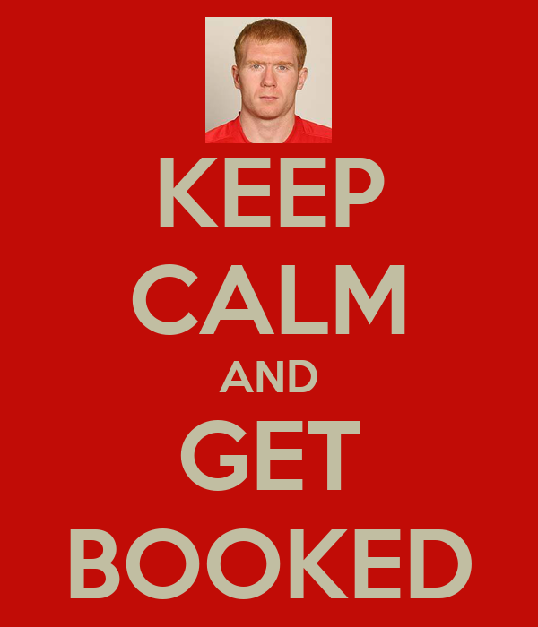 KEEP CALM AND GET BOOKED