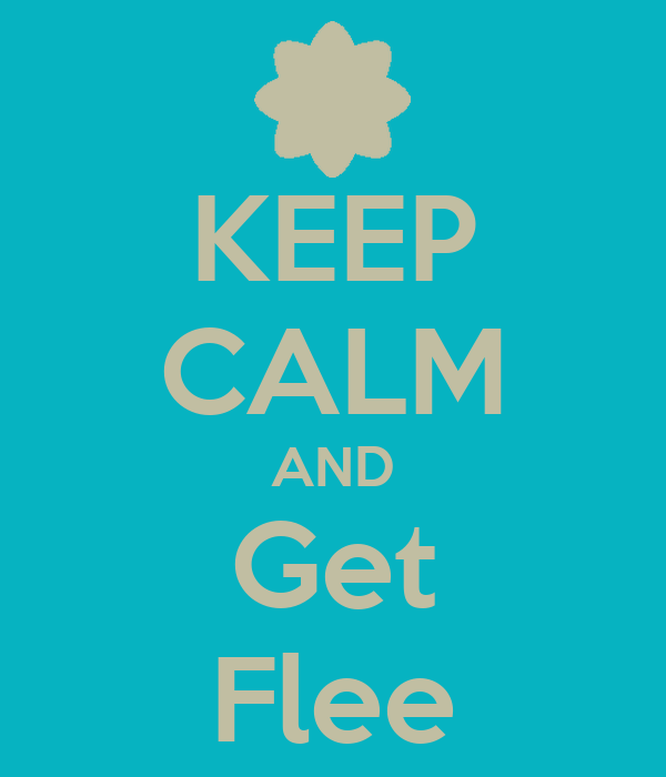 KEEP CALM AND Get Flee