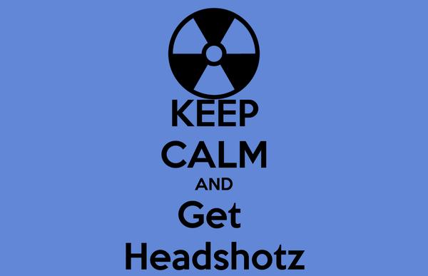 KEEP CALM AND Get  Headshotz