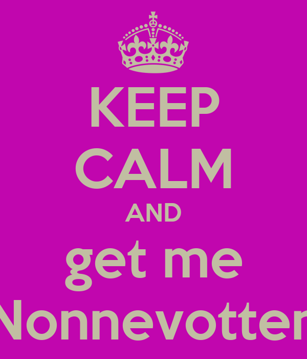 KEEP CALM AND get me Nonnevotten