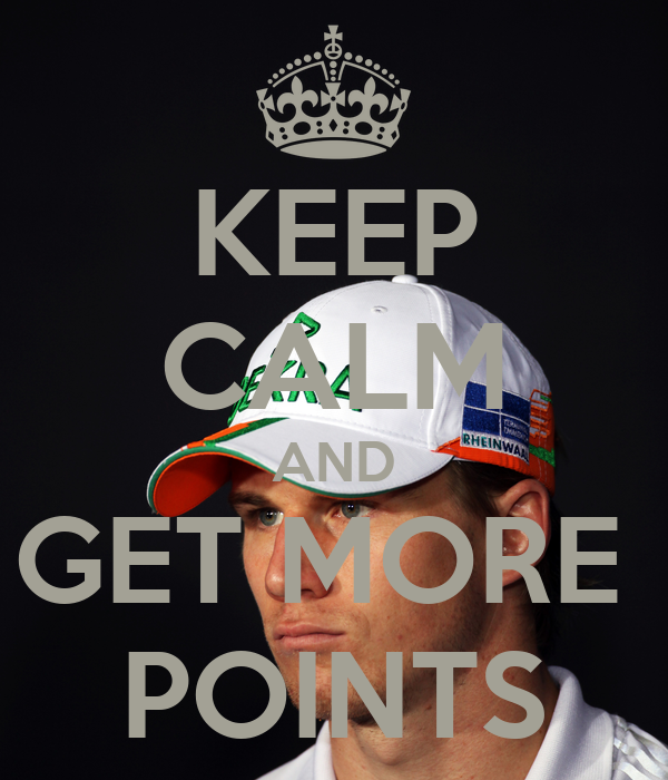 KEEP CALM AND GET MORE  POINTS