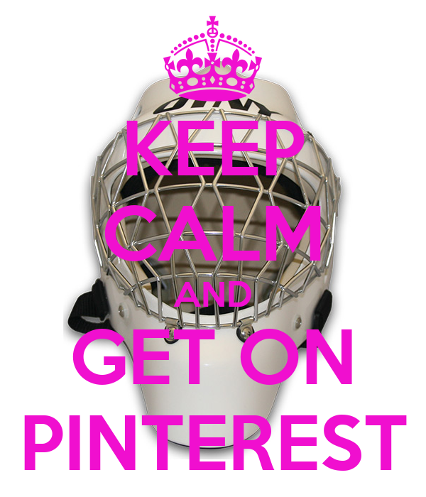 KEEP CALM AND GET ON PINTEREST