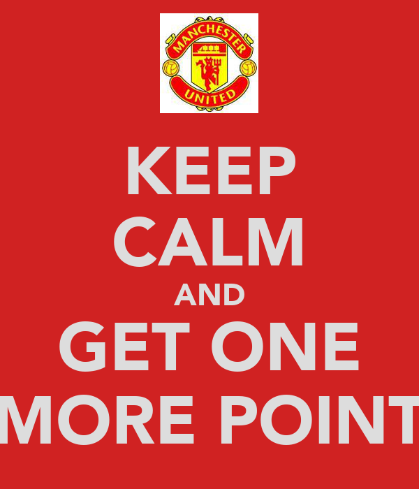 KEEP CALM AND GET ONE MORE POINT