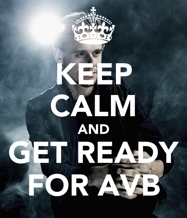 KEEP CALM AND GET READY FOR AVB