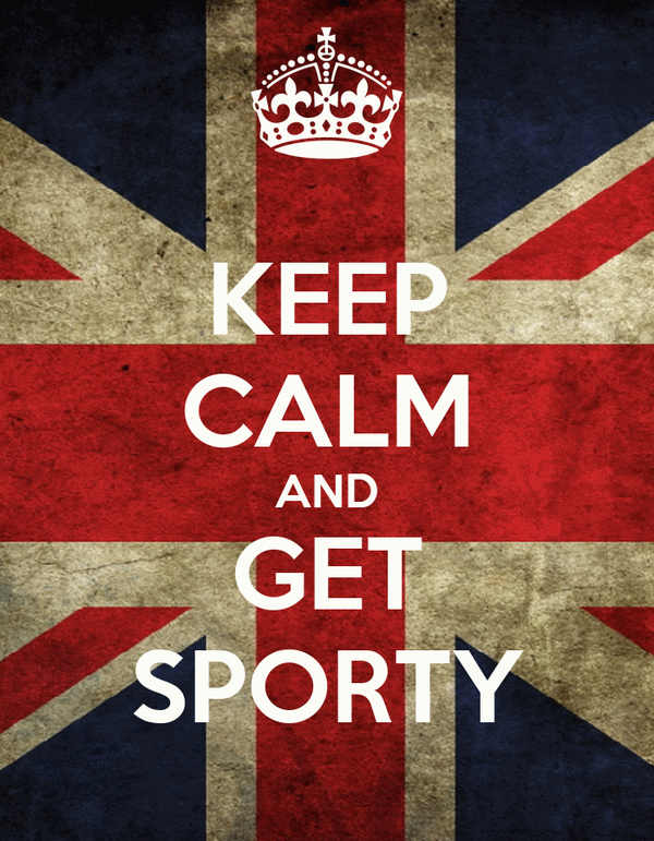 KEEP CALM AND GET SPORTY