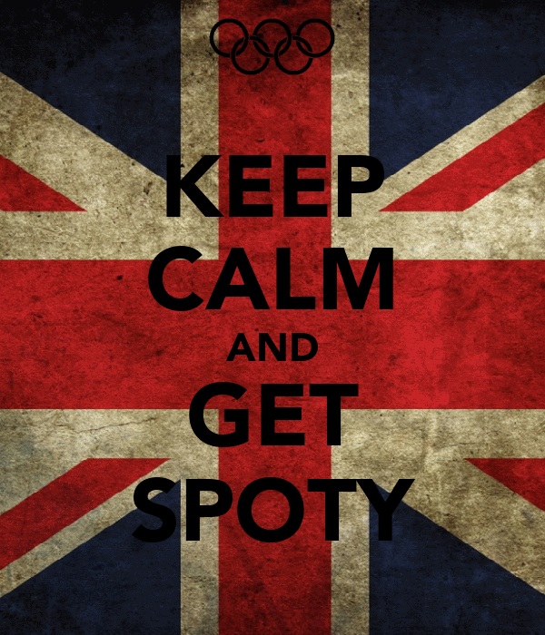 KEEP CALM AND GET SPOTY