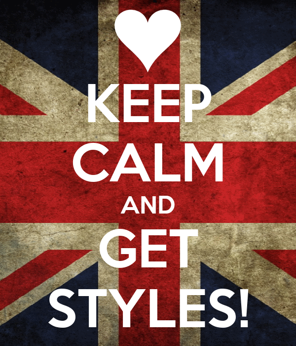 KEEP CALM AND GET STYLES!